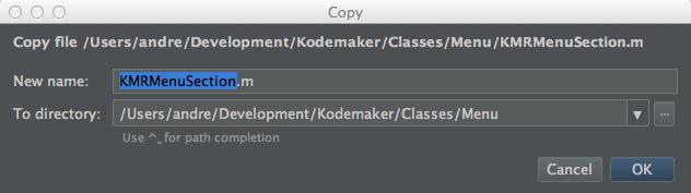 Copy a class